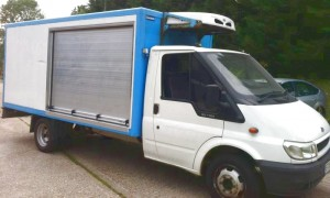 Ex-Tesco Home Delivery Vehicle