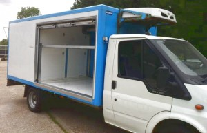 Ex-Tesco Home Delivery Vehicle (Front Ambient Compartment )