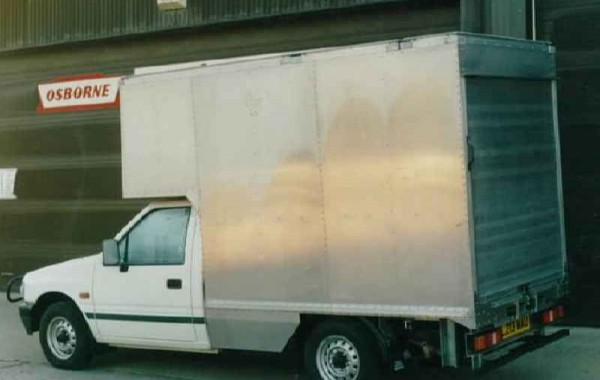 Box Van developed for Cambridge University Gardens Department