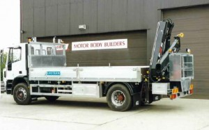 Heavy Duty Stores Delivery Vehicle (Transformer and Switchgear)