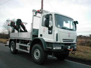 Iveco 4 x 4 Auger Truck Bodywork
