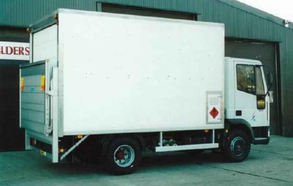Substation Fitters Box Van Body (Oil Van)