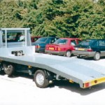 Examples of Beavertail Transporter on Ford Transit and Renault Master Chassis