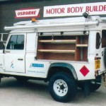 Example of a Long Wheelbase Land Rover 109 Utility Vehicle